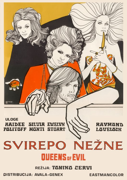 Queens of evil 1970 Le regine
