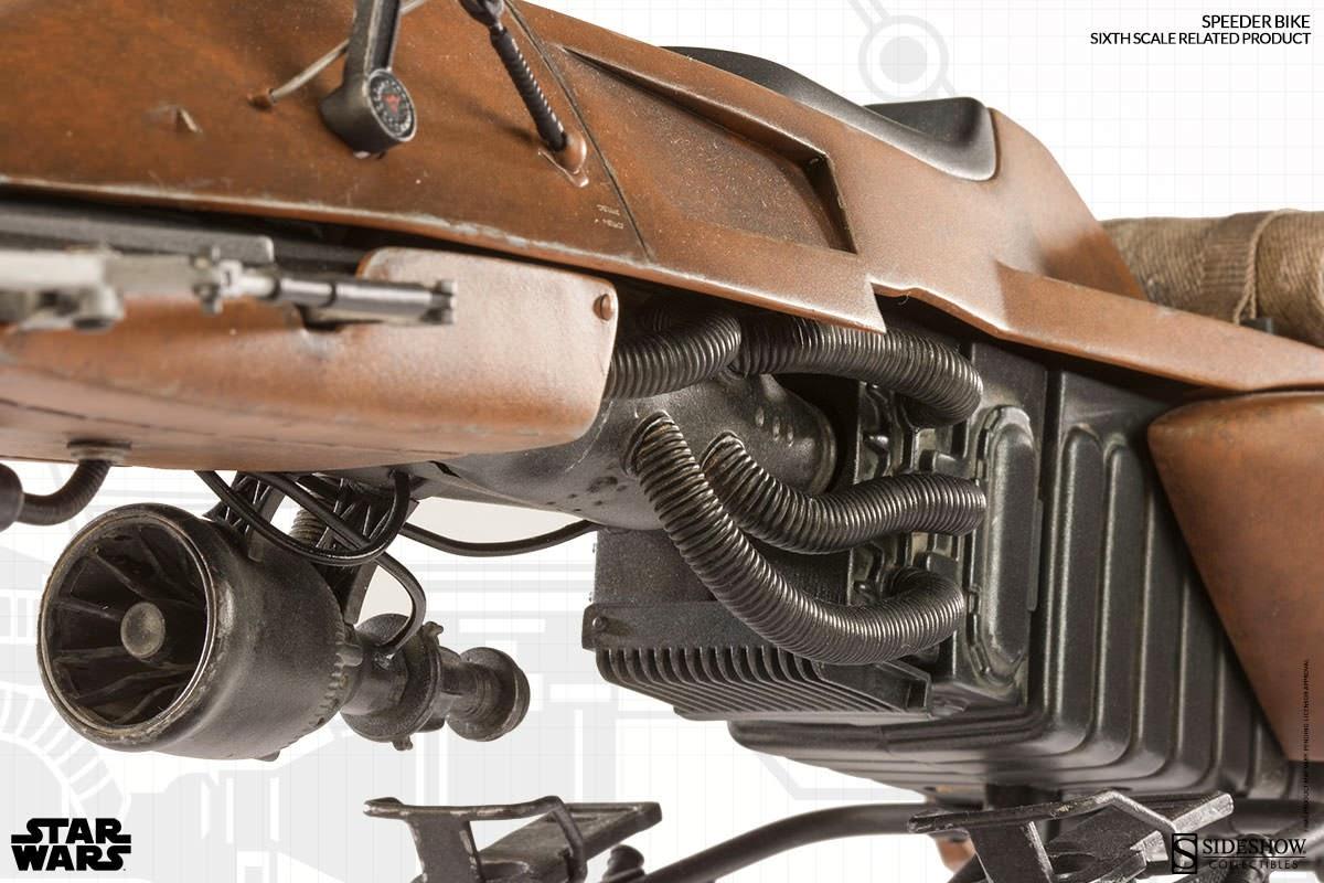 Osr Sideshow Sixth Scale Figure Scout Trooper Speeder Bike
