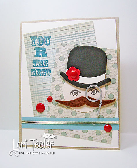 You R the Best card-designed by Lori Tecler/Inking Aloud-stamps and dies from The Cat's Pajamas
