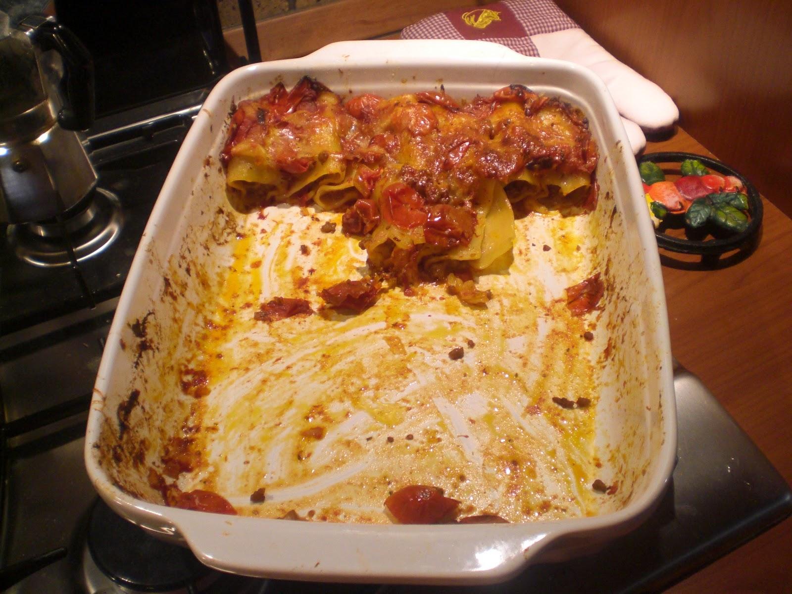 Foto e cucina paccheri ripieni - Cena tra amici cosa cucinare ...