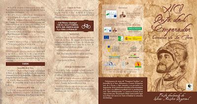 Programa XIV Ruta del Emperador Carlos V