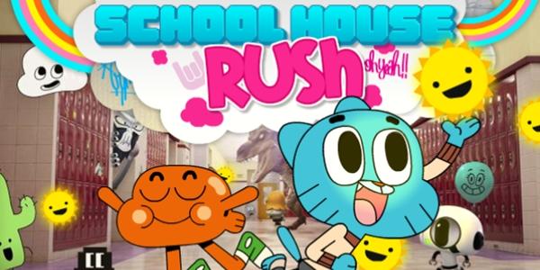 O Incrível Mundo de Gumball – Correria Na Escola