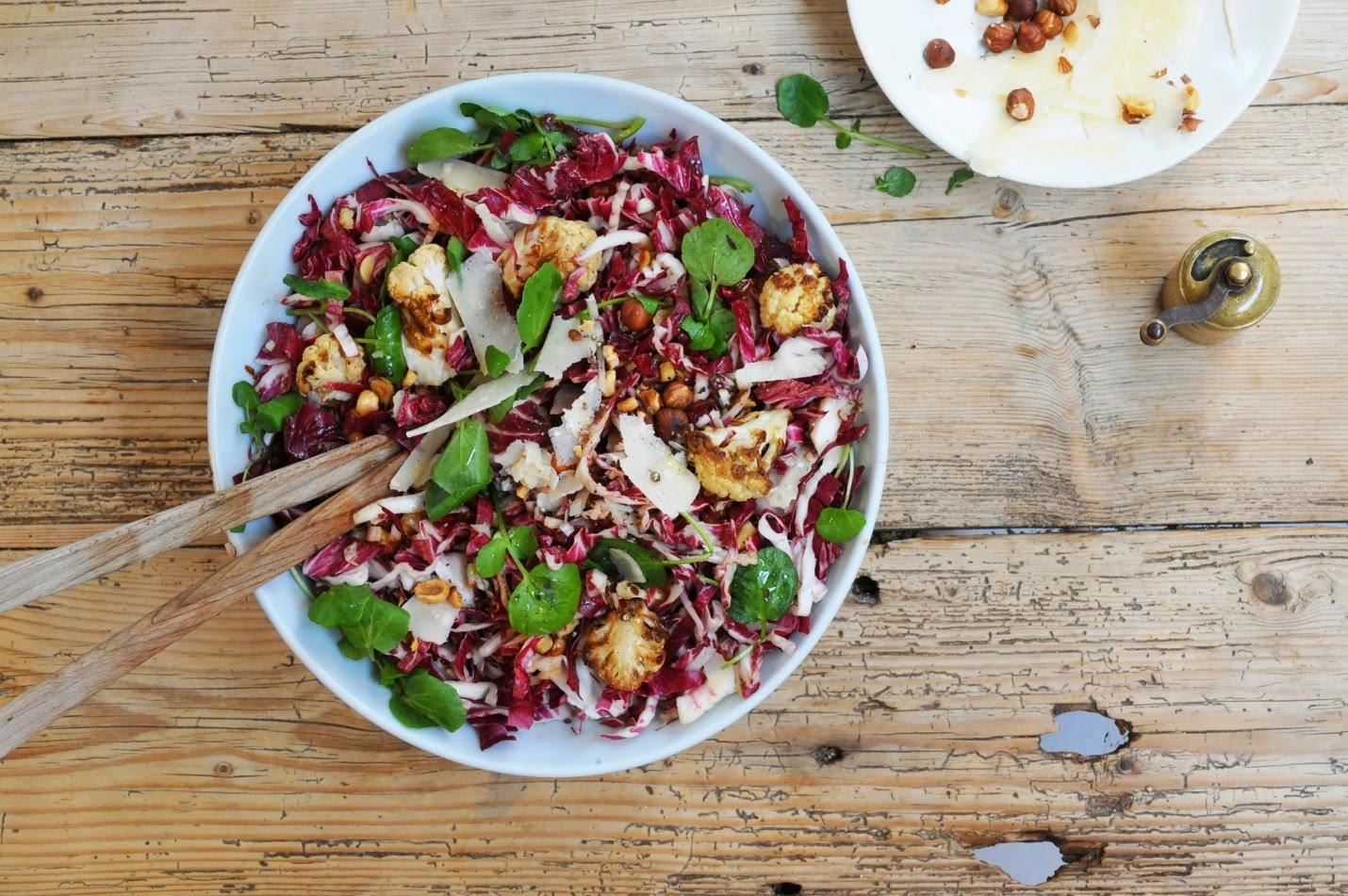 ... Carb Diabetic: A Great Winter Salad - Warm Cauliflower and Radicchio