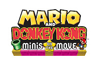 mario and donkey kong minis on the move logo Edge Review   Mario and Donkey Kong: Minis on the Move (3DS)