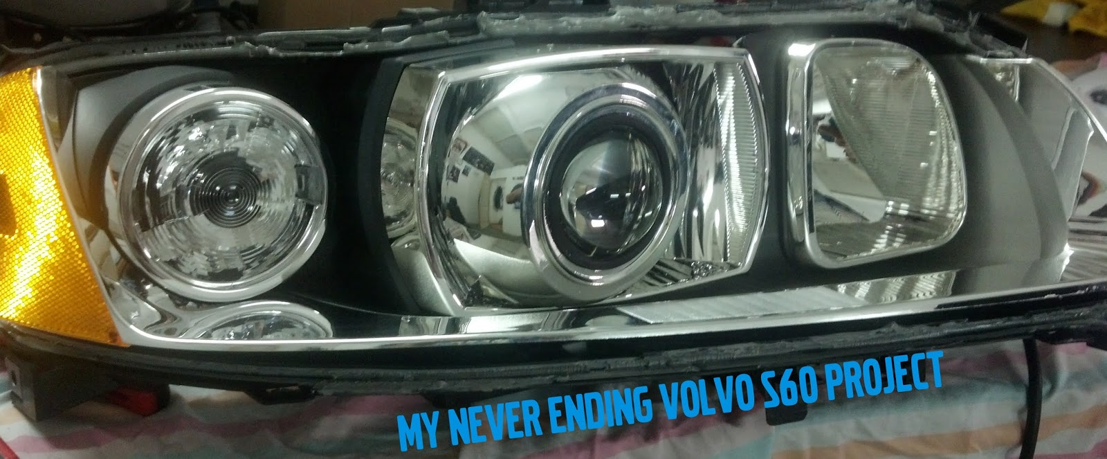 My Never Ending Volvo S60 Project: Behind blue eyes on