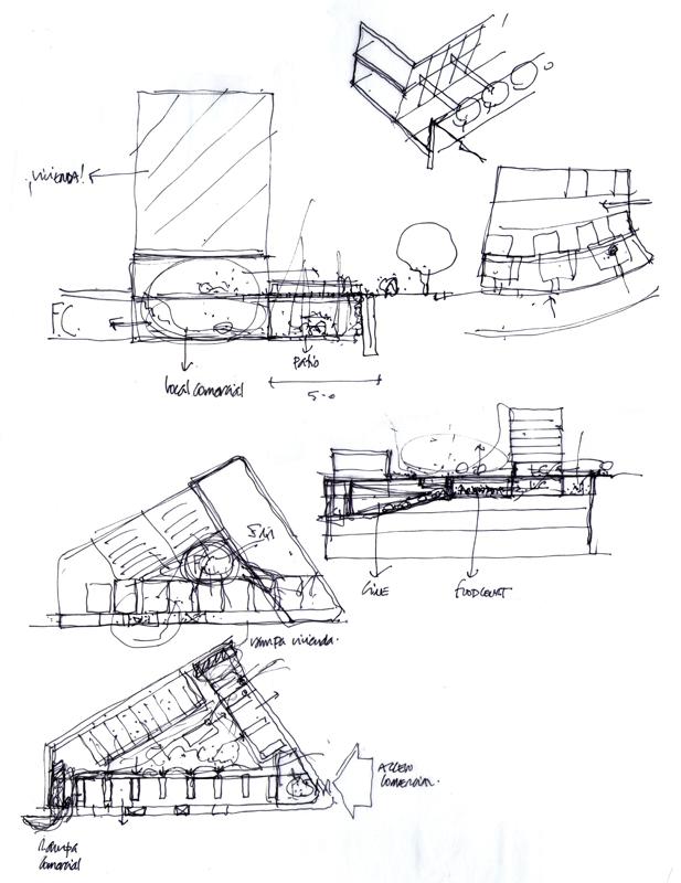 Dibujos de arquitecto architect drawings 111223 - Trabajo arquitecto barcelona ...
