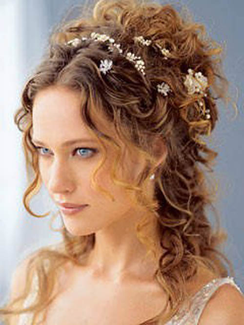 a new life hartz: Curly Wedding Hairstyle