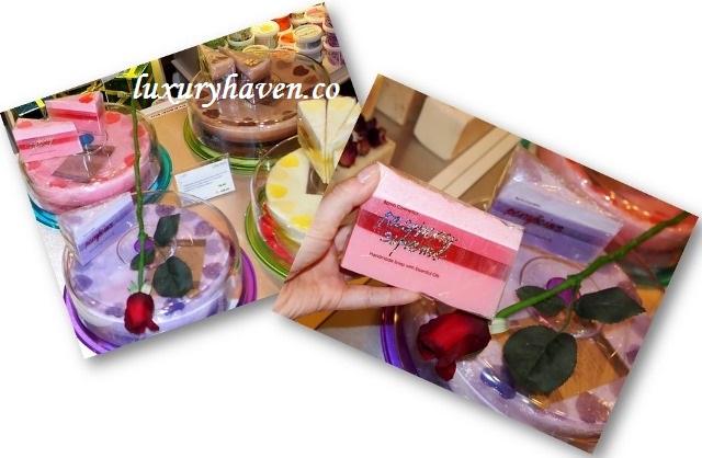 shea bomb cosmetics soap cakes