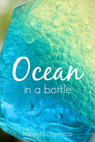 Ocean in a Bottle from Happy Hooligans