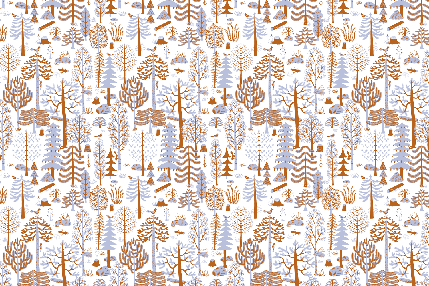 Fabric tree pattern - Related Posts