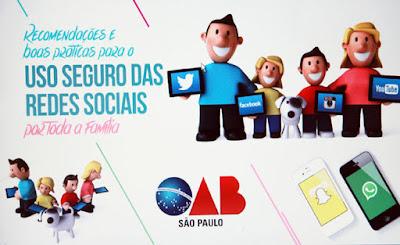 Cartilha sobre uso das redes sociais