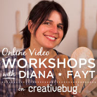 My Online Video Workshops on Creativebug