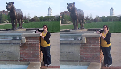Amy and Truman at MU