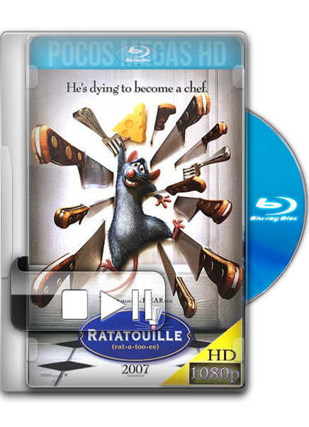 Ratatouille | 2007 | BRRip 1080p | Audio Dual Latino/Ingles + SUB