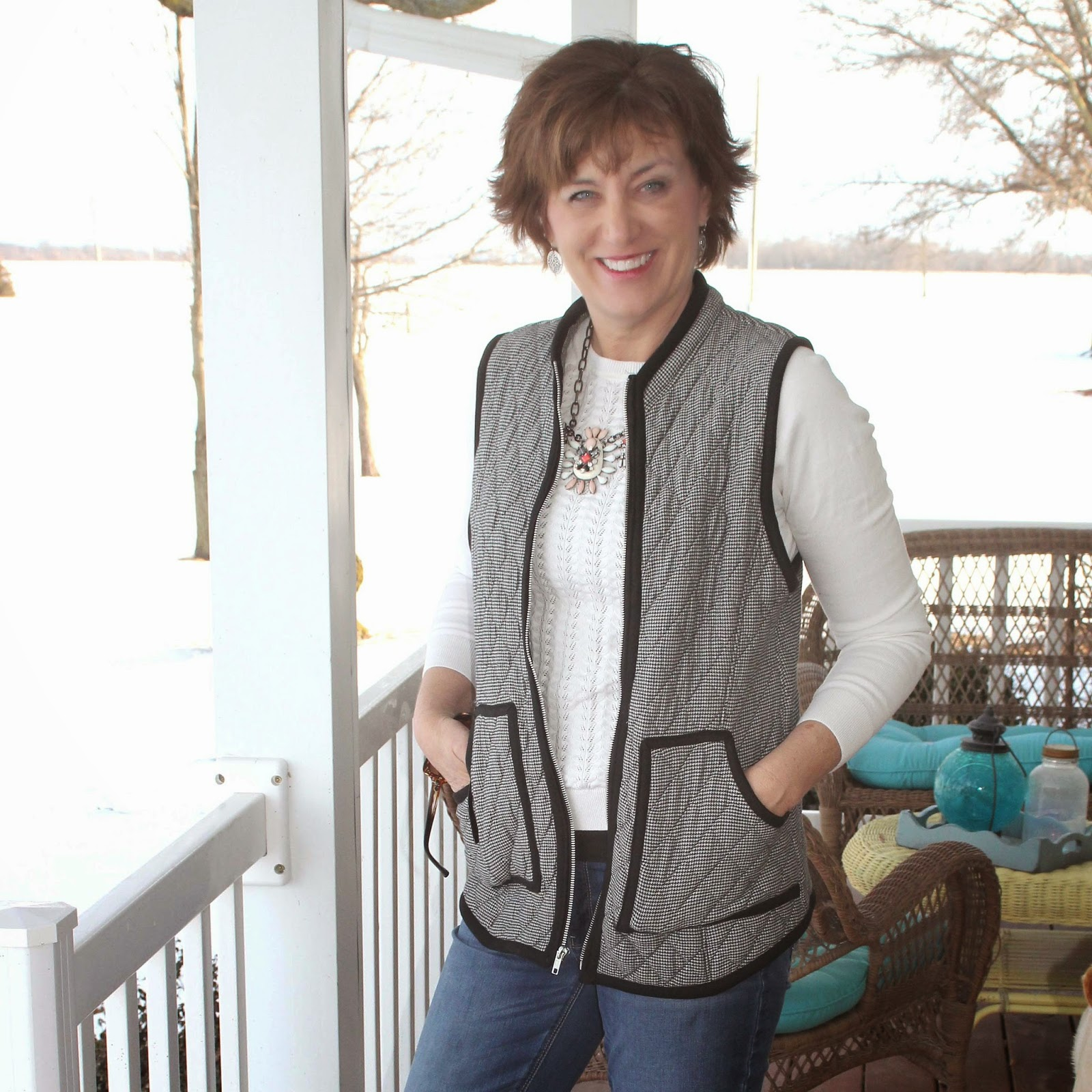 Simplicity 1499 quilted vest