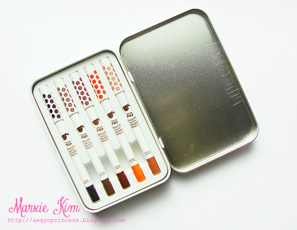 Etude House Color Pop Drawing Show Creamy Pencil Set Review