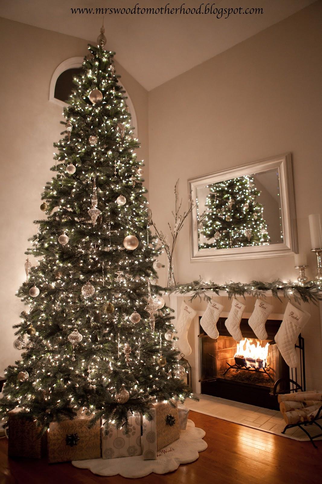 Mrs. Wood to Motherhood: Christmas Decor Home Tour!