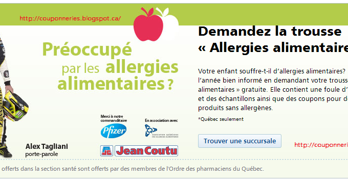 Coupons a imprimer alimentaire