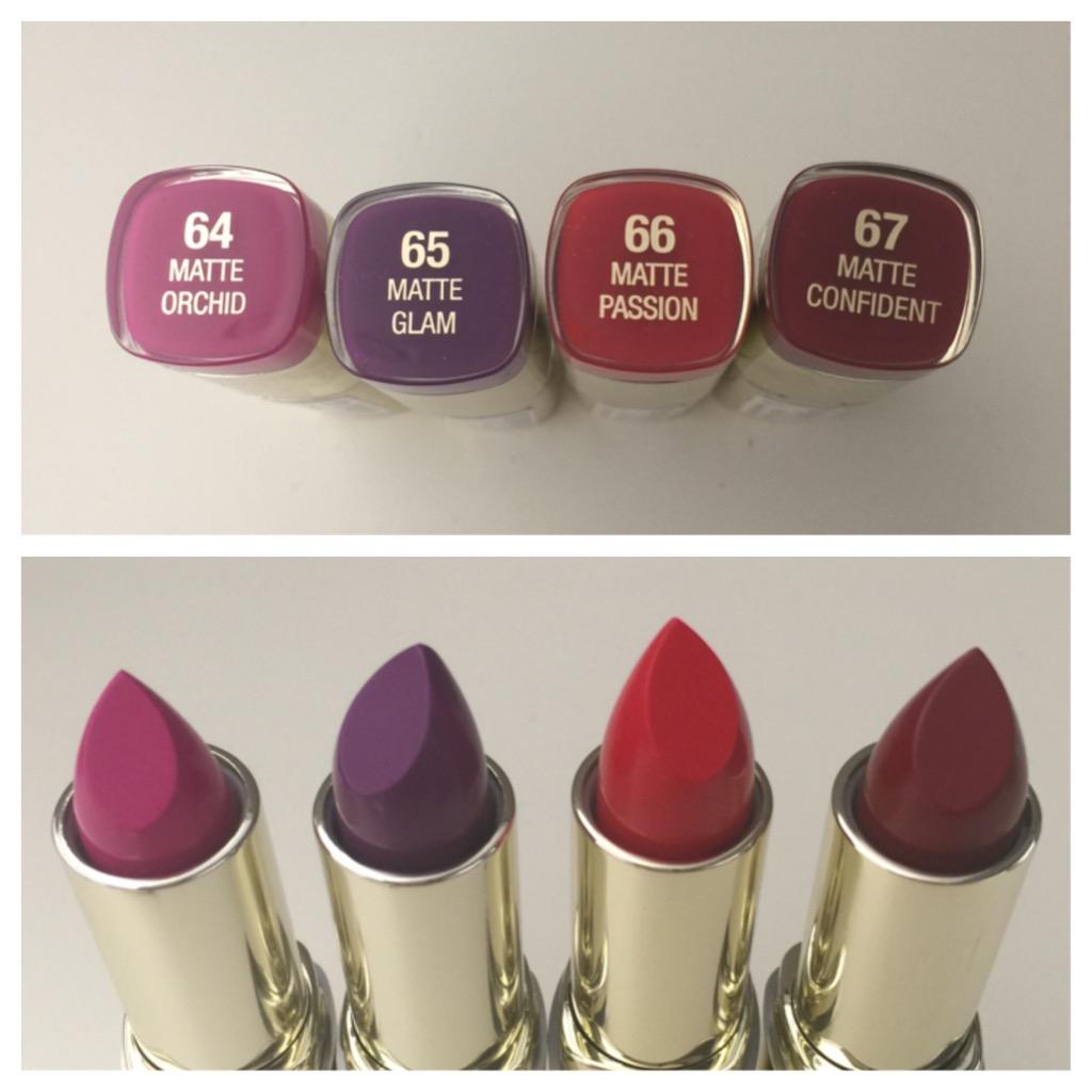 Milani 2015 Color Statement Lipstick Moisture Matte