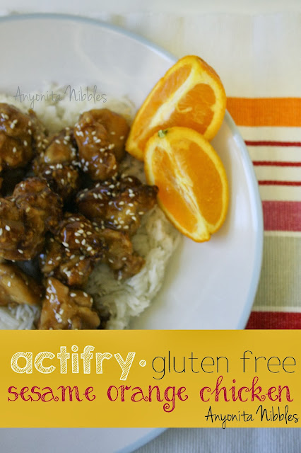 ActiFry Gluten Free Sesame Orange Chicken from www.anyonita-nibbles.com