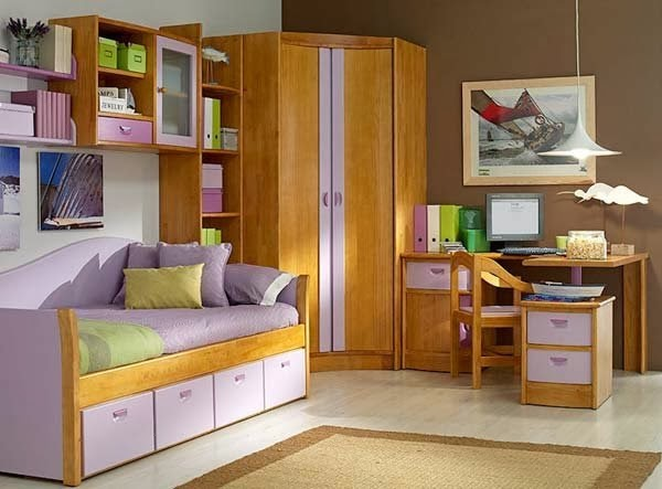 Muebles y decoraci n de interiores armarios o closets for Closet pequenos para ninos