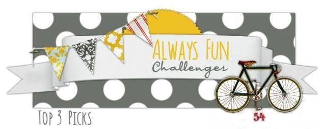 Top 3 Winners at Always Fun Challenges