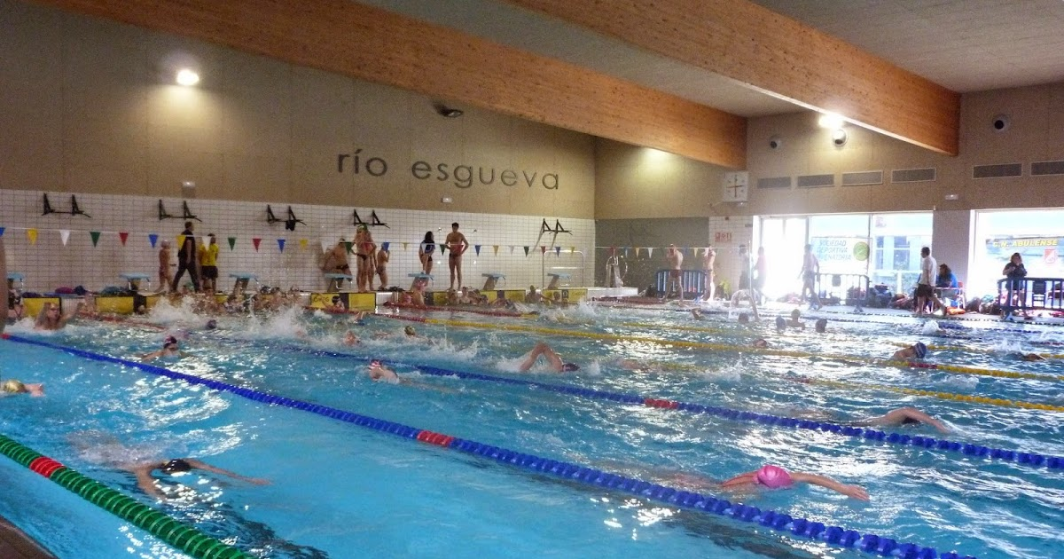 Club natacion palencia campeonato de castilla y leon for Piscina rio esgueva