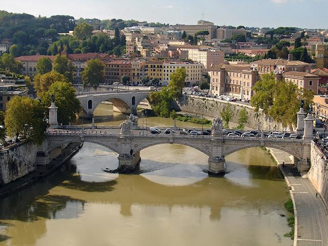 Le Tibre à Rome