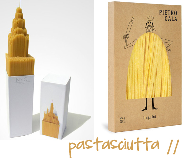 packaging  pasta