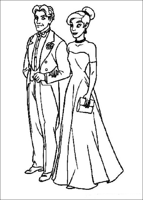 Fun Coloring Pages Anastasia Coloring Pages