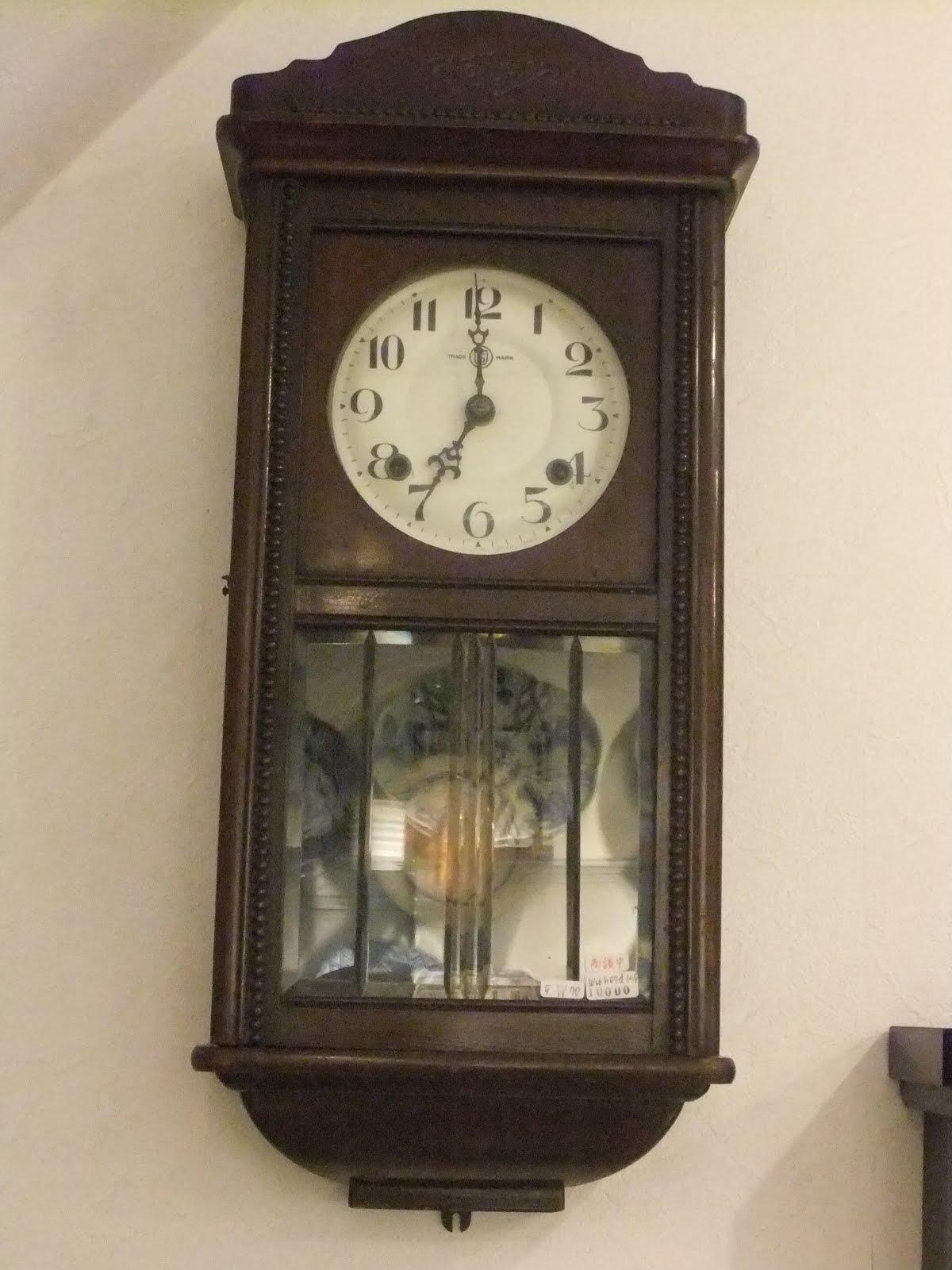 SEIKO社製長角掛け時計※商談中