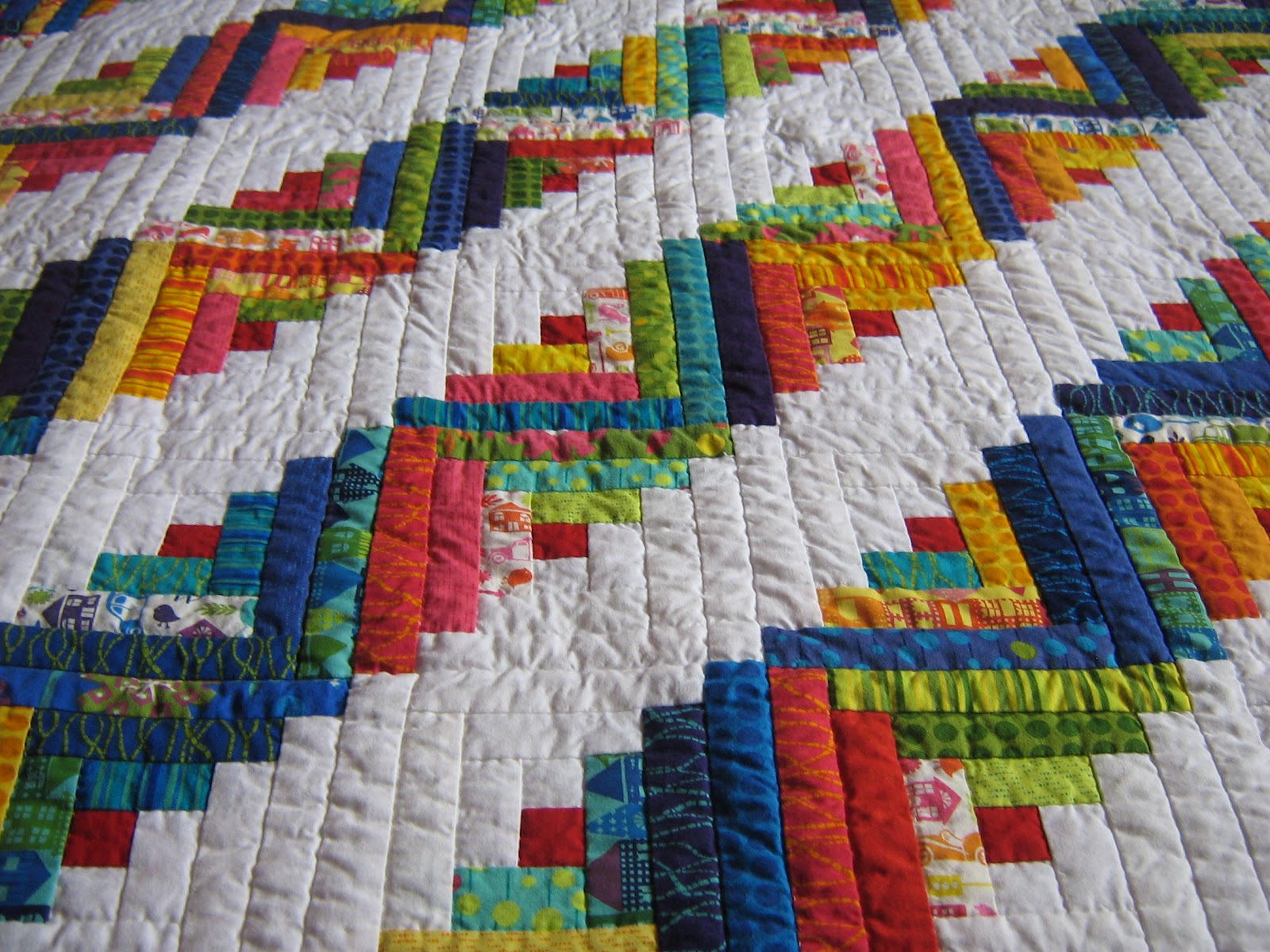 Log Cabin Quilts ~ Quilter michelle s log cabin quilt