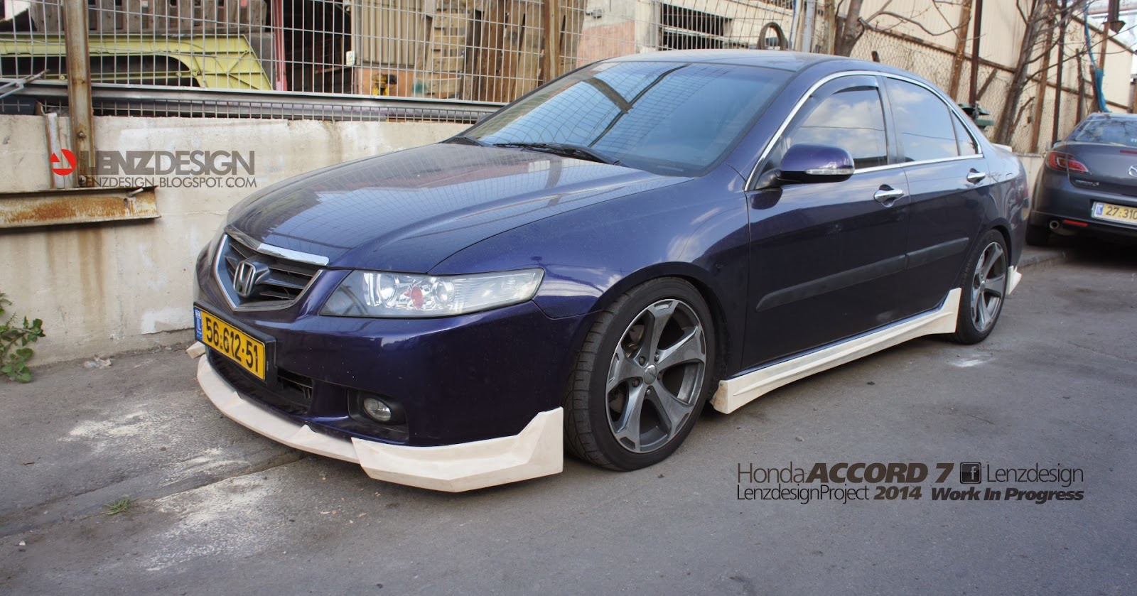 honda accord 7 2002 2006 lenzdesign bodykit spooilers. Black Bedroom Furniture Sets. Home Design Ideas