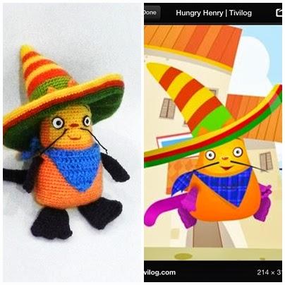 Amigurumi Baby Tv : Yaseminkale: amigurumi hungry henrry