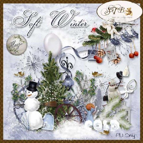 Soft winter Scrap kit