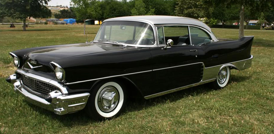 Just A Car Guy 1957 Chevrolet El Morocco one of the rarest Chevs