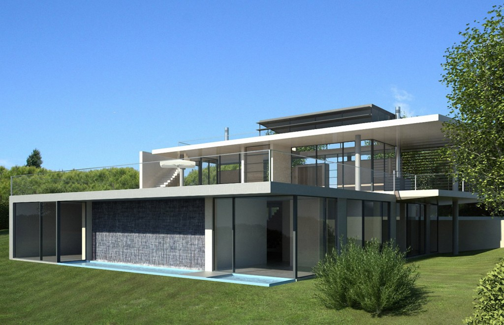 Modern minimalist villa in vale do lobo portugal idea for Modern minimalist villa