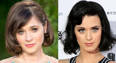 Katy Perry dan Zooey Deschanel