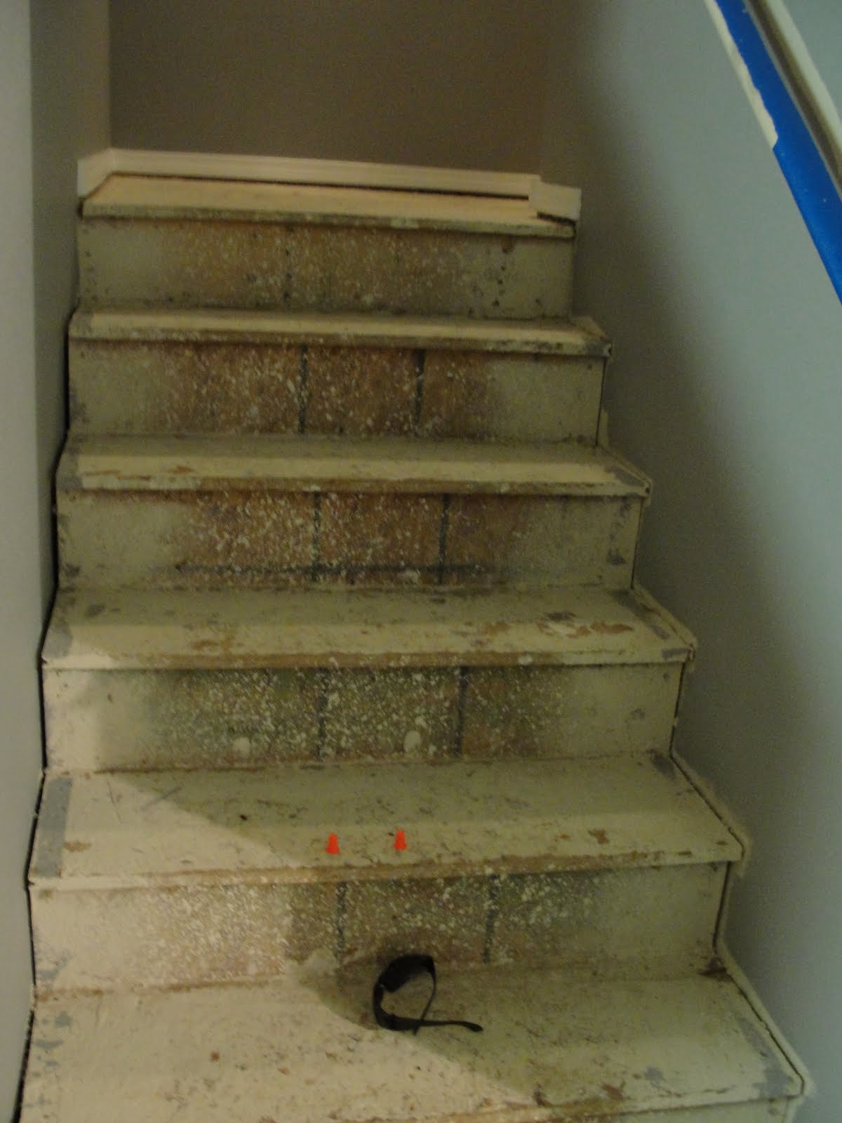 For instant beauty add elbow grease those pesky osb stairs for Ideas for redoing stairs