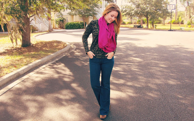 Fit and Flare Jeans