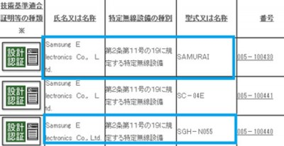 Samsung Tizen SGH-N055 Akan Dirilis Dalam 3 Varian Warna