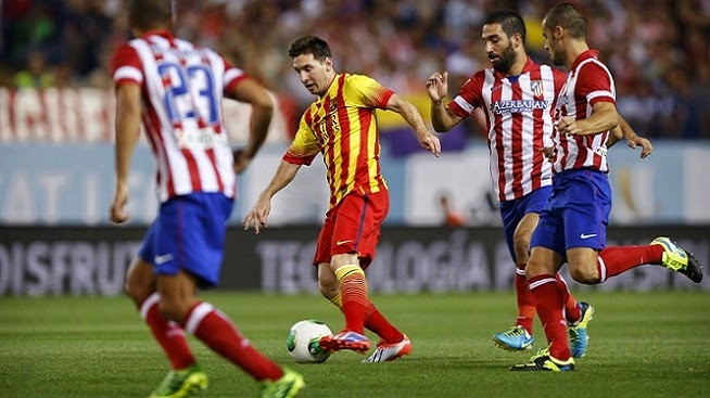 Hasil Pertandingan Barcelona vs Atletico Madrid 2 April 2014