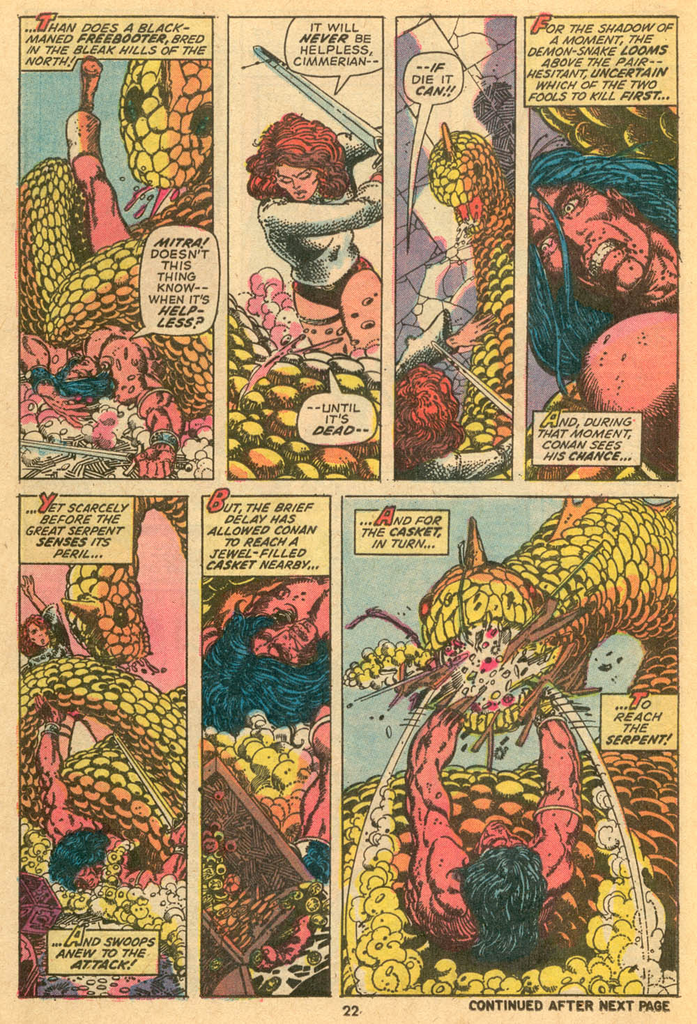 Conan the Barbarian (1970) Issue #24 #36 - English 17