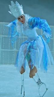 מלכת השלג על הקרח - חנוכה 2015