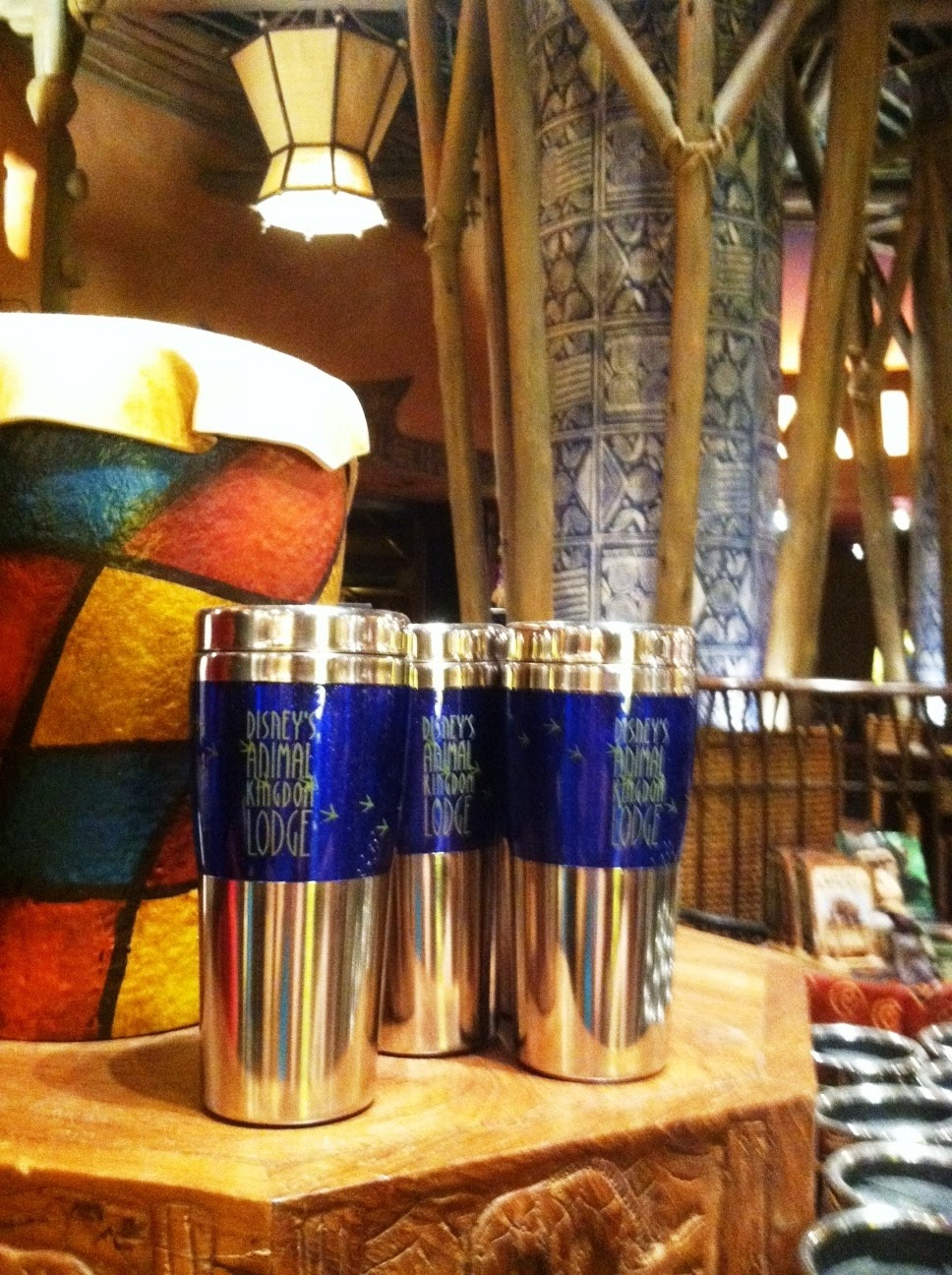 Animal Kingdom Lodge travel mugs