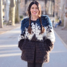 what to wear in winter - faux fur coat and braids by People ans Styles, daily street fashion, Ana Josipović