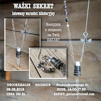 """DecoKreacje Szczecin Naszyjnik  """"Ważki sekret"""""""