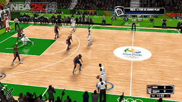 NBA 2k14 Ultimate Roster Update v7.10 : August 31st, 2016 - 2016 Rio Olympic Court and Arena