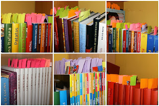 post it para libros, erase una vez asi