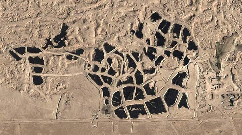 El cementerio de neumáticos mas grande del mundo en Sulabiya, Kuwait